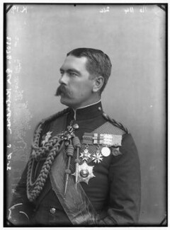 Herbert Kitchener, 1st Earl Kitchener, by Alexander Bassano - NPG x96305