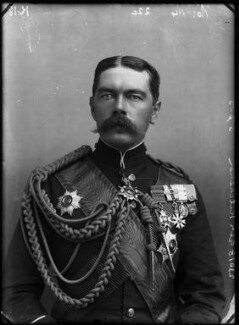 Herbert Kitchener, 1st Earl Kitchener, by Alexander Bassano - NPG x96306