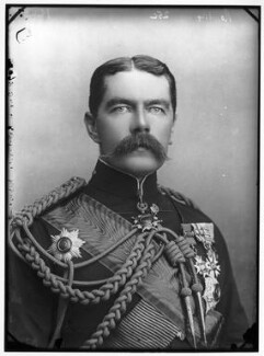Herbert Kitchener, 1st Earl Kitchener, by Alexander Bassano - NPG x96309