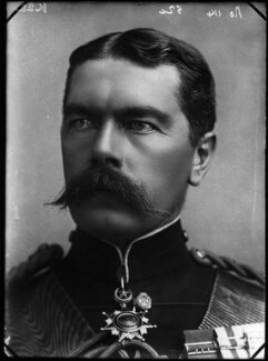 Herbert Kitchener, 1st Earl Kitchener, by Alexander Bassano - NPG x96336