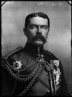 Herbert Kitchener, 1st Earl Kitchener, by Alexander Bassano - NPG x96346