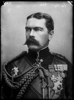 Herbert Kitchener, 1st Earl Kitchener, by Alexander Bassano - NPG x96347