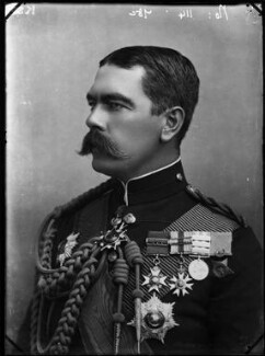Herbert Kitchener, 1st Earl Kitchener, by Alexander Bassano - NPG x96359