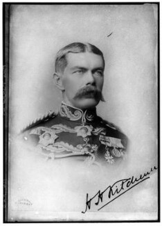 Herbert Kitchener, 1st Earl Kitchener, by Alexander Bassano - NPG x96372
