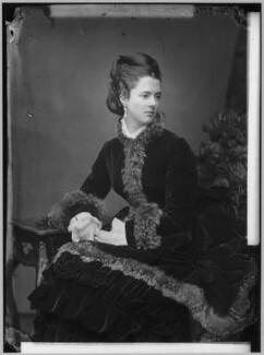 Georgina Elizabeth Ward (née Moncreiffe), Countess of Dudley, by Alexander Bassano - NPG x96397