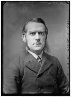 Sir Edward George Clarke, by Alexander Bassano - NPG x96420