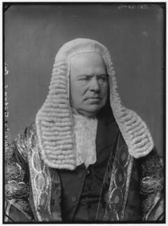 Hardinge Stanley Giffard, 1st Earl of Halsbury, by Alexander Bassano, 1883 - NPG x96428 - © National Portrait Gallery, London