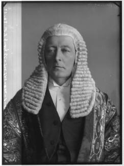 William Court Gully, 1st Viscount Selby, by Alexander Bassano - NPG x96431