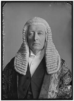 William Court Gully, 1st Viscount Selby, by Alexander Bassano - NPG x96433