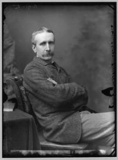 Briton Riviere, by Alexander Bassano, 1883 - NPG x96461 - © National Portrait Gallery, London