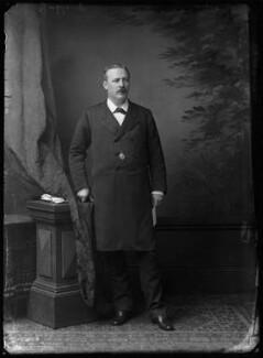 Evelyn Baring, 1st Earl of Cromer, by Alexander Bassano - NPG x96566