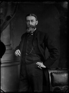 Sir Edward John Poynter, 1st Bt, by Alexander Bassano, 1883 - NPG x96609 - © National Portrait Gallery, London