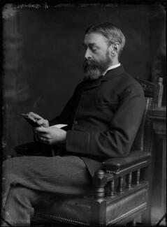 Sir Edward John Poynter, 1st Bt, by Alexander Bassano, 1883 - NPG x96610 - © National Portrait Gallery, London
