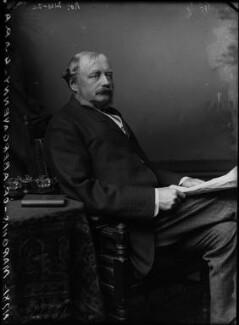 William Nevill, 1st Marquess of Abergavenny, by Alexander Bassano - NPG x96629
