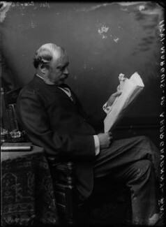 William Nevill, 1st Marquess of Abergavenny, by Alexander Bassano, circa 1884 - NPG x96630 - © National Portrait Gallery, London