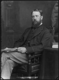 Spencer Compton Cavendish, 8th Duke of Devonshire, by Alexander Bassano - NPG x96635