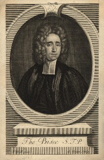 Thomas Bisse, by George Vertue, after  Thomas Hill - NPG D10993