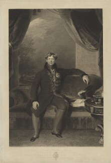 King George IV, by William Finden, after  Sir Thomas Lawrence - NPG D10990