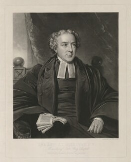 James Thomas Holloway, by and published by George Raphael Ward, after  John Hayes - NPG D11002