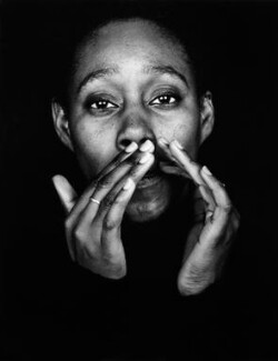 Sonia Boyce, by Donald MacLellan - NPG x88732