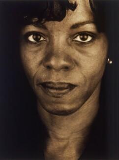 Margaret Busby, by Donald MacLellan - NPG x88748