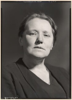 Lizzie Susan Stebbing, by Howard Coster - NPG x25710
