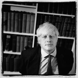 Boris Johnson, by Cinnamon Faye - NPG x88788