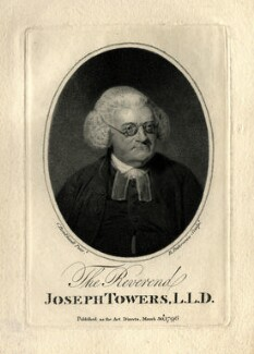 Joseph Towers, probably by Benjamin Duterreau, after  Charles Borckhardt - NPG D11024