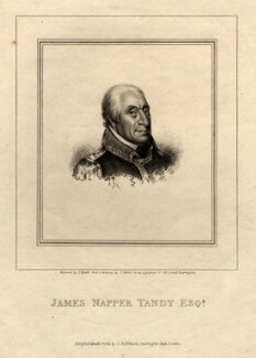 James Napper Tandy, by James Heath, after  James Petrie - NPG D11031