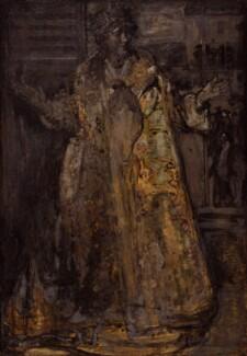 Ellen Terry as Nance Oldfield, by James Ferrier Pryde, circa 1894 - NPG 6568 - © National Portrait Gallery, London