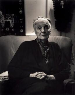 Patience Edney (née Darton), by Rosalind Miller, January 1996 - NPG x87082 - © Rosalind Miller