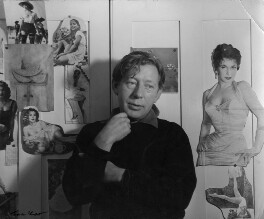 Laurie Lee, by Ida Kar, 1956 - NPG x88804 - © National Portrait Gallery, London