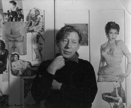 Laurie Lee, by Ida Kar, 1956 - NPG x88804 - © National Portrait Gallery, London