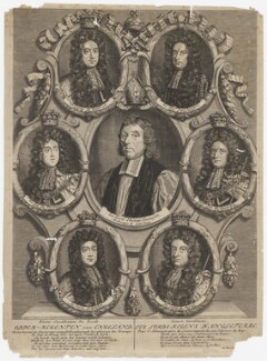 The Lords Regent of England, after Unknown artist, 1695 or after - NPG D11015 - © National Portrait Gallery, London