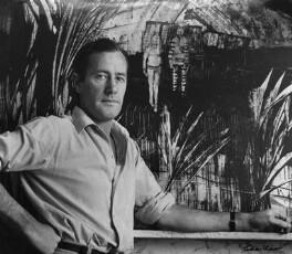 Sir Sidney Robert Nolan, by Ida Kar, 1958 - NPG x88816 - © National Portrait Gallery, London