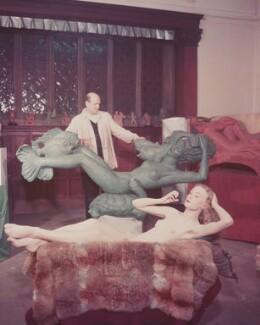 Arthur Fleischmann; Joyce Odiase (née Taylor), by (Edward) Russell Westwood - NPG x68256
