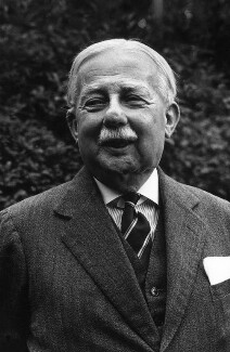 Sir John Bagot Glubb, by Peter Keen - NPG x88865