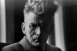 Samuel Beckett, by Peter Keen, early 1960s - NPG x88866 - © estate of Peter Keen / National Portrait Gallery, London