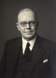 Sir Cyril Lodowic Burt, by Walter Stoneman - NPG x165379