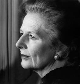 Margaret Thatcher, by Gemma Levine, 1986 - NPG x88867 - © Gemma Levine