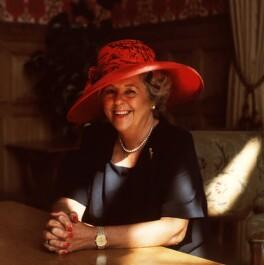 Betty Boothroyd, Baroness Boothroyd, by Gemma Levine - NPG x88876