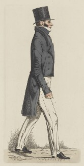 James Lindsay, by and published by Richard Dighton - NPG D11054