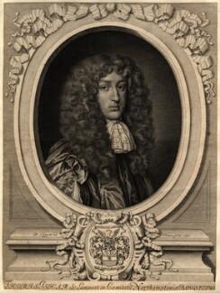 Sir Thomas Isham, Bt, by David Loggan - NPG D11055