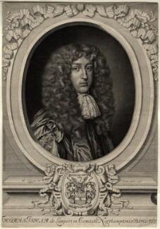 Sir Thomas Isham, Bt, by David Loggan - NPG D11056