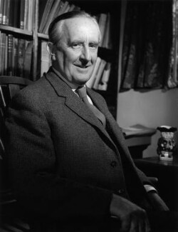 J.R.R. Tolkien, by Pamela Chandler - NPG x88830