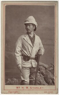 Sir Henry Morton Stanley, by London Stereoscopic & Photographic Company, 1872 - NPG x27584 - © National Portrait Gallery, London