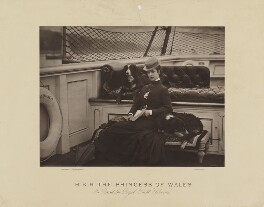 Queen Alexandra, by Symonds & Co, 1877 - NPG x17460 - © National Portrait Gallery, London
