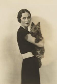 Wallis, Duchess of Windsor, by Dorothy Wilding - NPG x25936
