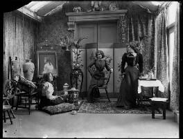 Bea Martin; Rita Martin; Lallie Charles, by Lallie Charles - NPG x68948