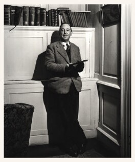 C.S. Lewis, by Arthur Strong - NPG x19838